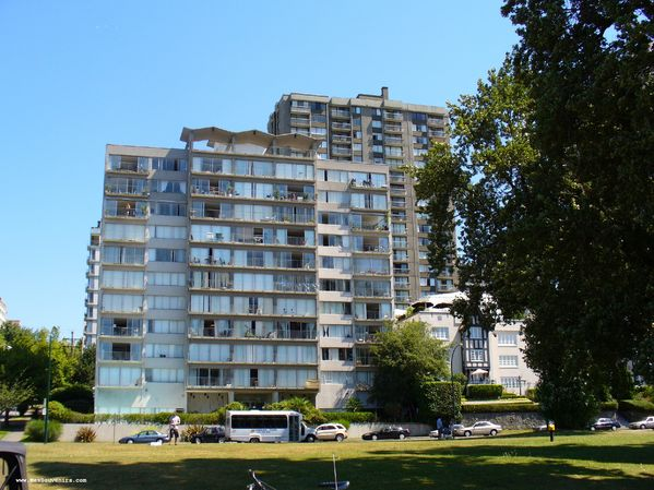 Un immeuble à Vancouer