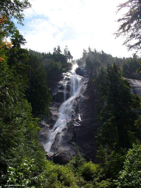 Chutes de Shannon Falls