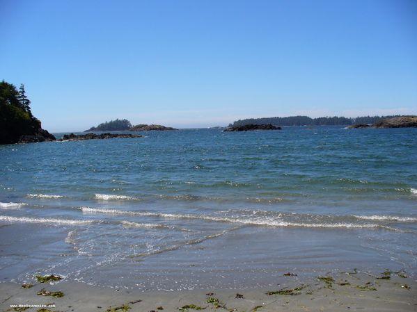 La plage de Tofino