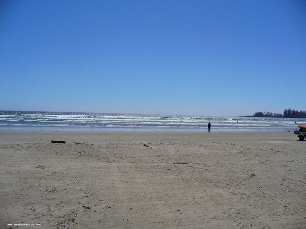 L'océan Pacifique depuis Long Beach