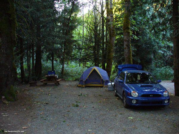 Camping Brennen Lake à Namaimo - Colombie-Britannique
