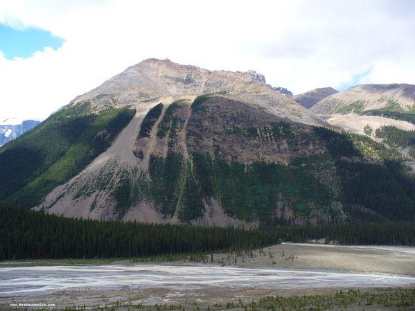 Un autre montagne dans le Parc National de Jasper