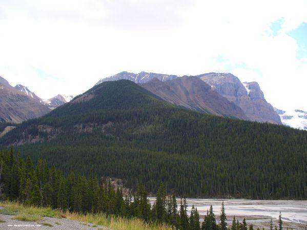 Un mont dans le parc National de Jasper