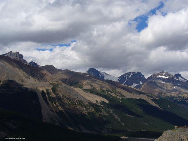 Quelques montagnes dans le Parc National de Jasper