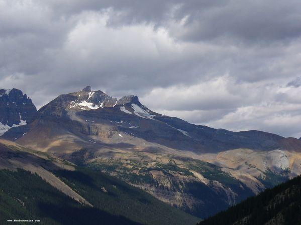 Une vue du Parc National de Jasper