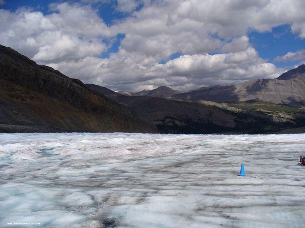 Une autre vue sur le champ de Glace Columbia