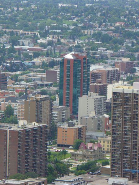 Quelques immeubles à Calgary