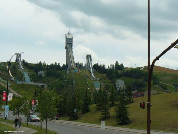 Un souvenir des Jeux Olympique d'hiver de Calgary de 1988