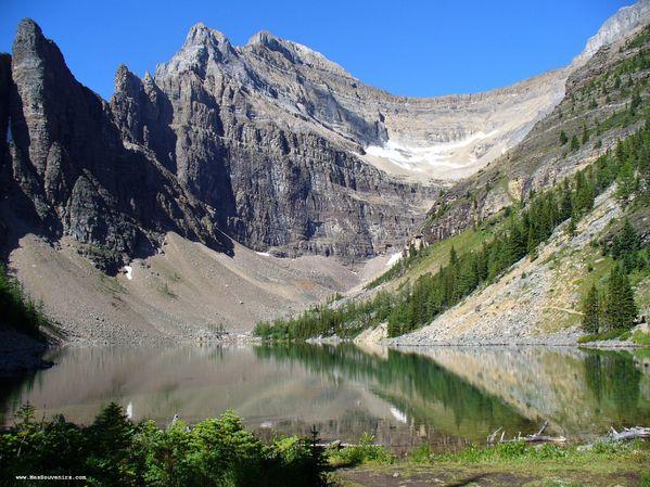 Le lac Agnes