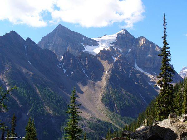 Montagne dans le secteur lac Louise