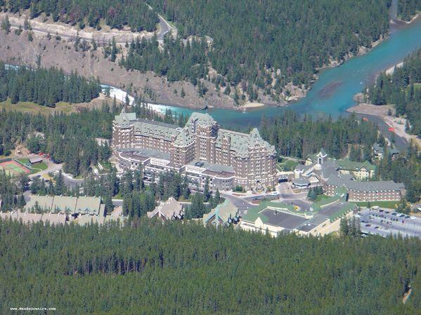 Un hôtel de Banff Springs