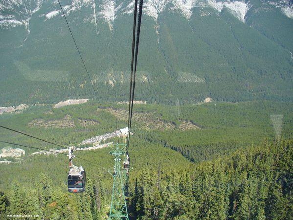 Le téléphérique de Banff