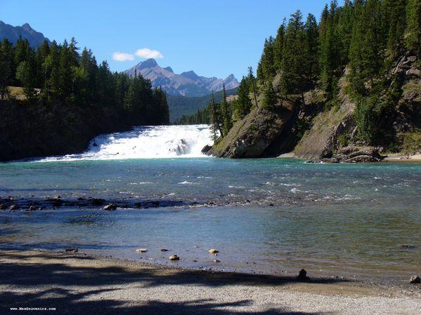 Chutes Bow à Banff
