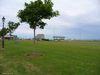 Le poste de péage vu de Gateway Village