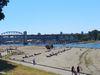 Une plage de Vancouver