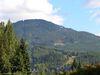Un léger très léger aperçu d'une station de ski à Whistler
