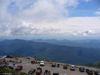 Une vue sur le stationnement du mont Washington