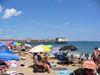 La plage  et le quai d'Old Orchard Beach