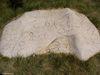 Pétroglyphes à St-Victor - Saskatchewan