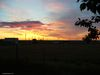 Un levée du soleil en Saskatchewan