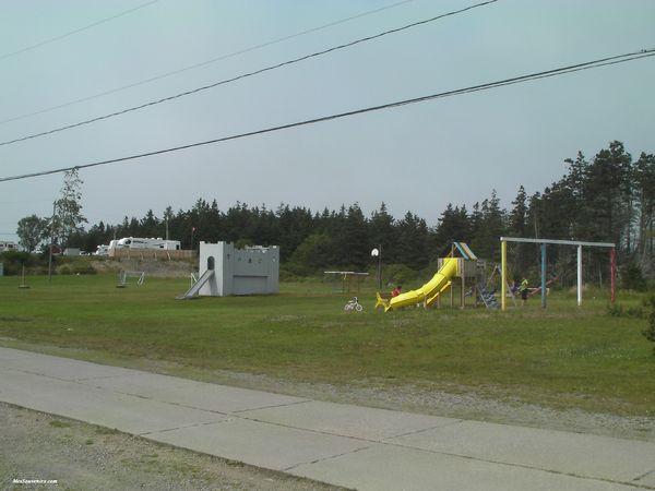 Terrain de jeux du camping Belle Baie Park