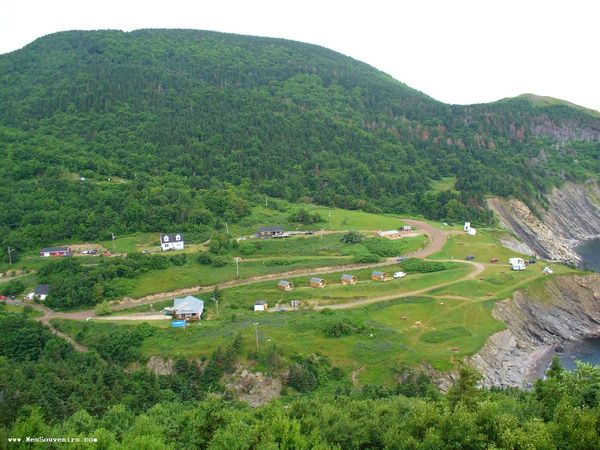 Meat Cove et son camping