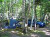 Mon site sur le terrain de camping de Chéticamp