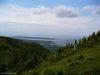 Chéticamp depuis le sentier l'Acadien