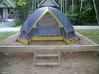 Ma tente sur son emplacement