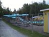 Les glissades d'eau du camping Yogi Bear's