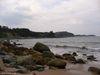 À l'extrémité nord de la plage d'Ingonish sud