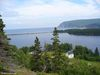 Le lac Freshwater et la baie Ingonish sud