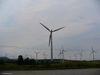 Le Nordais, un champ d'éolienne à Cap-Chat