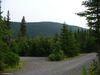 Une vue depuis mon emplacement du camping au mont Jacques-Cartier