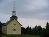 Une église sur le site du camping Petit-Gaspé
