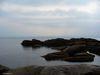 Quelques rochers à l'ouest de la plage de Petit-Gaspé
