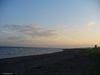 La plage de Carleton-sur-Mer au coucher du soleil